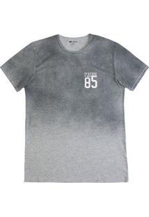 Camiseta Masculina Hering Em Modelagem Slin Com Efeito Spray