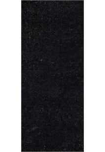 Passadeira Veludo Life Confort Black L100_L 66X120