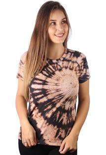 Camiseta Baby Look Espiral Flash Tie Dye Md03