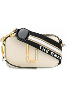 Marc Jacobs Bolsa Transversal Snapshot - Neutro