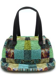 Bolsa Paola Clover Em Patchwork Original - Multicolorido - Feminino - Dafiti