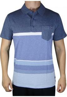 Camisa Polo Billabong Spinner - Masculino-Azul