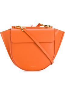 Wandler Hortensia Mini Cross Body Bag - Laranja