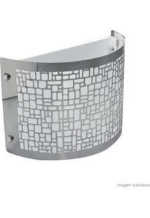 Arandela Radiance Para 1 Lâmpada E27 Prata Taschibra
