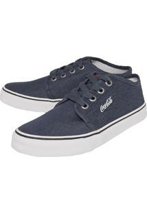 Sapatênis Coca-Cola Shoes Chukka Ii Azul