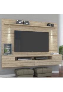 Painel Para Tv 2 Portas Bianca 277022 Rustico - Madetec