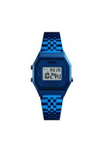 Relógio Skmei Masculino -1345- Azul