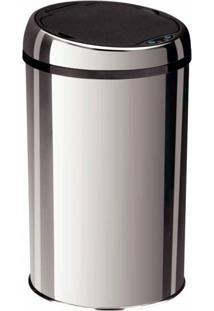 Lixeira Inox Automática Com Sensor Tramontina 12 Litros
