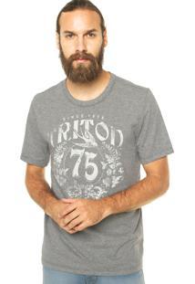 Camiseta Triton Reta Cinza