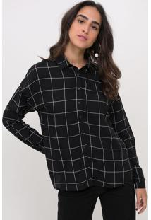 Camisa Xadrez Grid