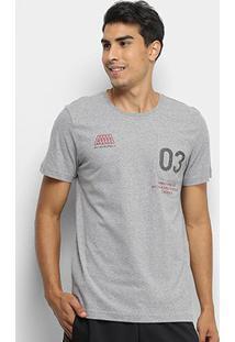 Camiseta Adidas Mh Pocket Masculina - Masculino-Cinza+Preto