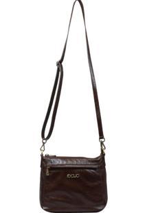 Bolsa Recuo Fashion Bag Transversal Tabaco