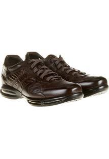 Sapato Conforto Couro Democrata Air Full - Masculino