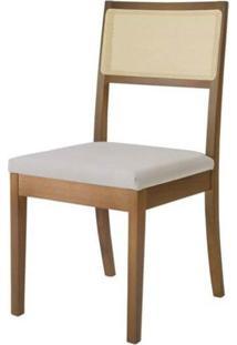 Kit Com 6 Cadeiras De Madeira Maciça Mh3230 Móveis Herval
