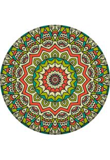 Tapete Love Decor Redondo Wevans Mandala Green 84Cm