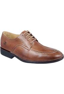 Sapato Social Masculino Derby Sandro Moscoloni Bakers Marrom - Masculino-Marrom-Claro