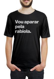 Camiseta Hunter Vou Aparar Pela Rabiola Preta