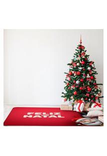 Tapete De Natal Para Sala Feliz Natal Único