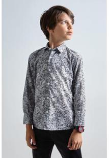 Camisa Infantil Liberty Luna Reserva Mini Masculina - Masculino