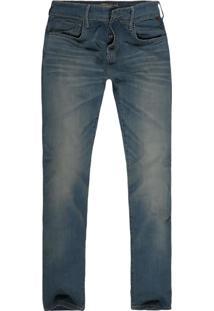 Calça Jeans Khelf Fit Jeans Azul