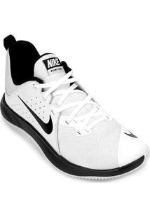 Tênis Nike Fly.By Low Masculino - Masculino-Branco+Preto