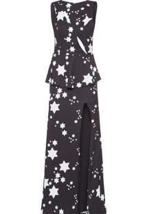 Vestido Longo Model - Preto