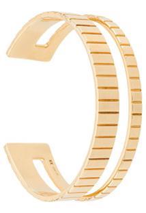 I.V.I. Bracelete Slot - Dourado