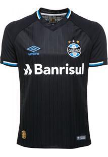 Camisa Masculina Umbro Grêmio Oficial 3 2018 S/N