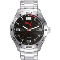 76c57bcbc54 Relógio Puma - Masculino-Prata