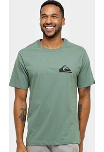 Camiseta Quiksilver Básica Logo Masculina - Masculino
