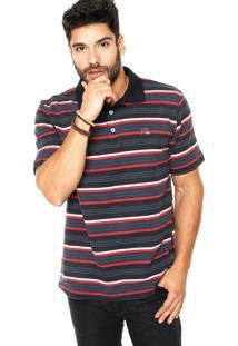 Camisa Polo Quiksilver Stripey Listrada
