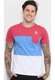 Camiseta Corvette Stingray Pocket Masculina - Masculino