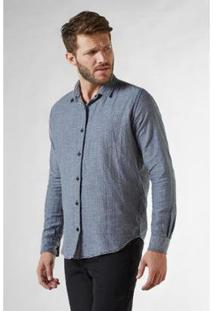 Camisa Reserva Pf Double Face Vichy Pois Masculina - Masculino