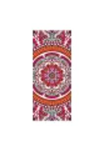 Adesivo Decorativo De Porta - Mandala - 2426Cnpt
