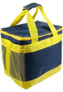 Bolsa Térmica Alma De Praia Cooler - Masculino-Amarelo