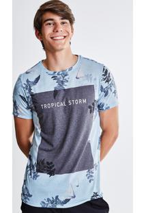Camiseta Estampada Barcos