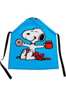 Avental Canvas Snoopy 75 X 60 Cm