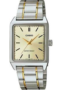 Relógio Casio Analógico Feminino - Ltp-V007Sg-9Eudf - Feminino-Prata
