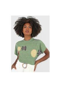 Camiseta Forum Canelada Verde