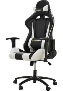 Cadeira Office Pro Gamer V2 Em Pu Preta E Branca - 27710 - Sun House
