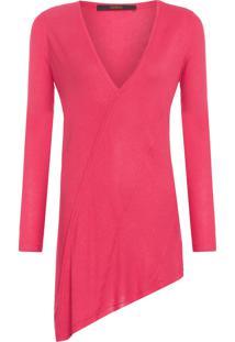 Blusa Feminina Contorno Colors - Vermelho