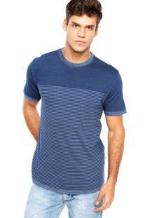 Camiseta Redley Listras Azul