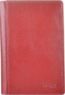 Carteira M.Art 181C - Unissex-Vermelho