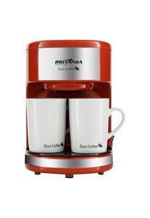 Cafeteira Britânia Duo Coffee Vermelha