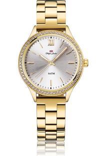 Relógio Analógico P London Feminino - Pl81011145F Dourado
