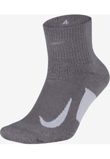 Meia Nike Elite Cushion Quarter Running