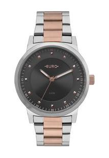 Relógio Euro Bicolor Trendy Feminino Eu2036Ynt/5C Eu2036Ynt/5C