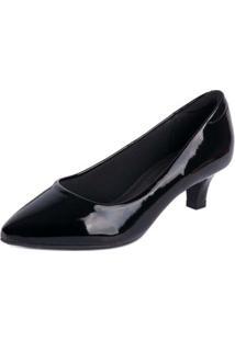 Sapato Modare Scarpin - Feminino-Preto