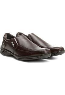 Sapato Social Walkabout Masculino - Masculino-Café