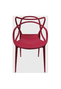 Cadeira Allegra Cereja Rivatti Vermelho